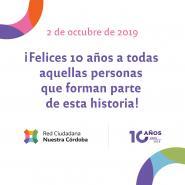 10 años de Nuestra Córdoba