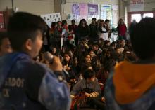 Niños y niñas presentaron propuestas para mejorar espacios públicos frente a autoridades provinciales y municipales