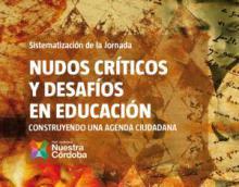 Documento Nudos críticos y desafíos en educación