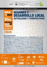 Seminario Internacional Regiones y Desarrollo Local