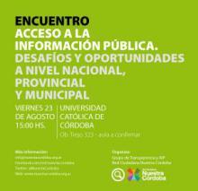 Acceso a la Información Pública. Desafíos y oportunidades